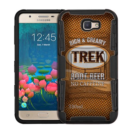 Samsung Galaxy On5 (2016) Armor Hybrid Case - Soda Can Root-beer