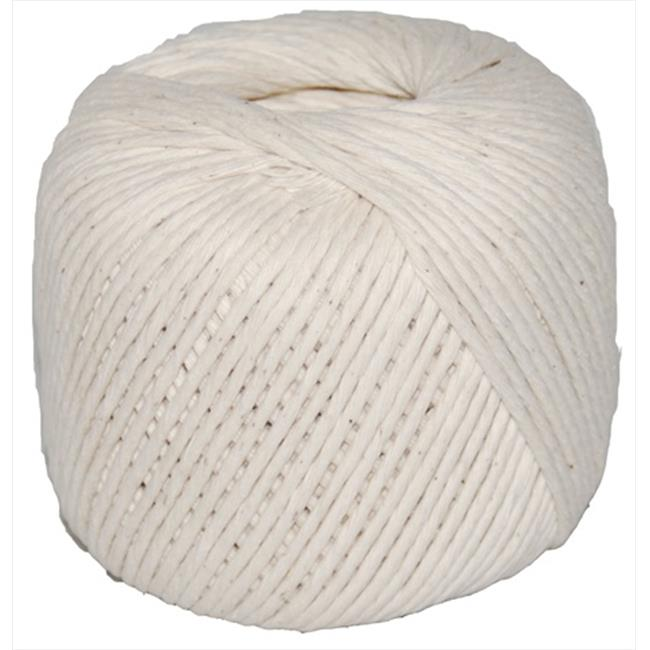 T.W. Evans Cordage 09-368 Number 36 Polished Beef Cotton Twine with 400 ft. Ball
