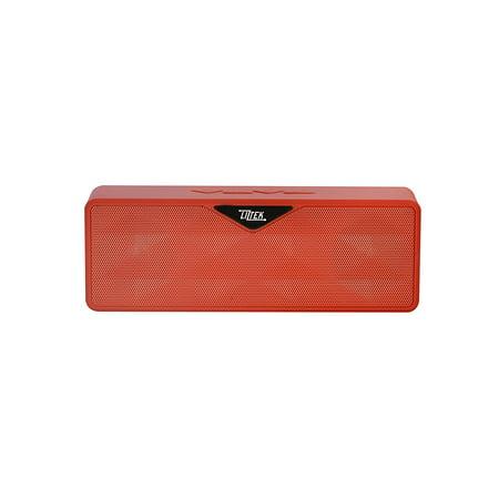 Liztek Ultra Portable Bluetooth Speaker - Red (Ultra Speakers)