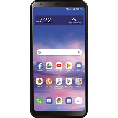 Straight Talk LG Stylo 5, 32GB, Black - Prepaid Smartphone