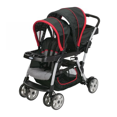 Graco Ready2Grow Double Seated Click Connect Baby Infant Tandem ...