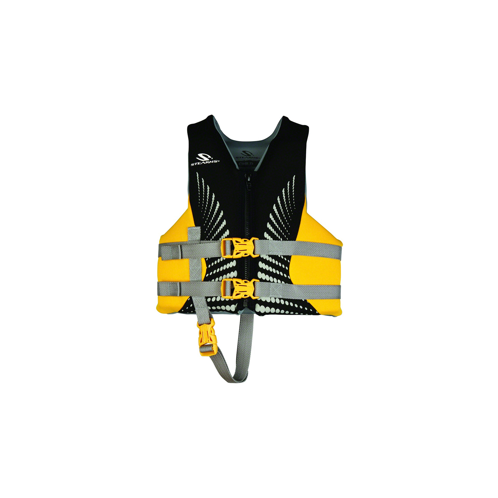 Stearns PFD 5417 Child Hydroprene Life Jacket, Gold Rush, 2000013893 by Stearns