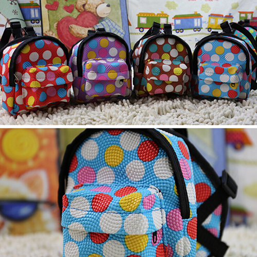 Girl12Queen Cartoon Pattern Pet Bag Backpack Travel Carrier for Dog Puppy Cat with Leash