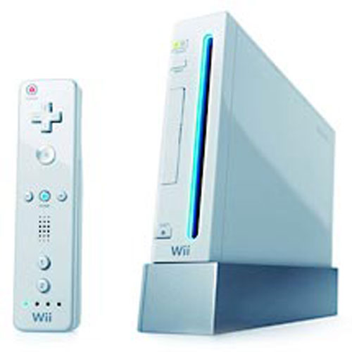 Nintendo Wii Console with Wii Sports Game