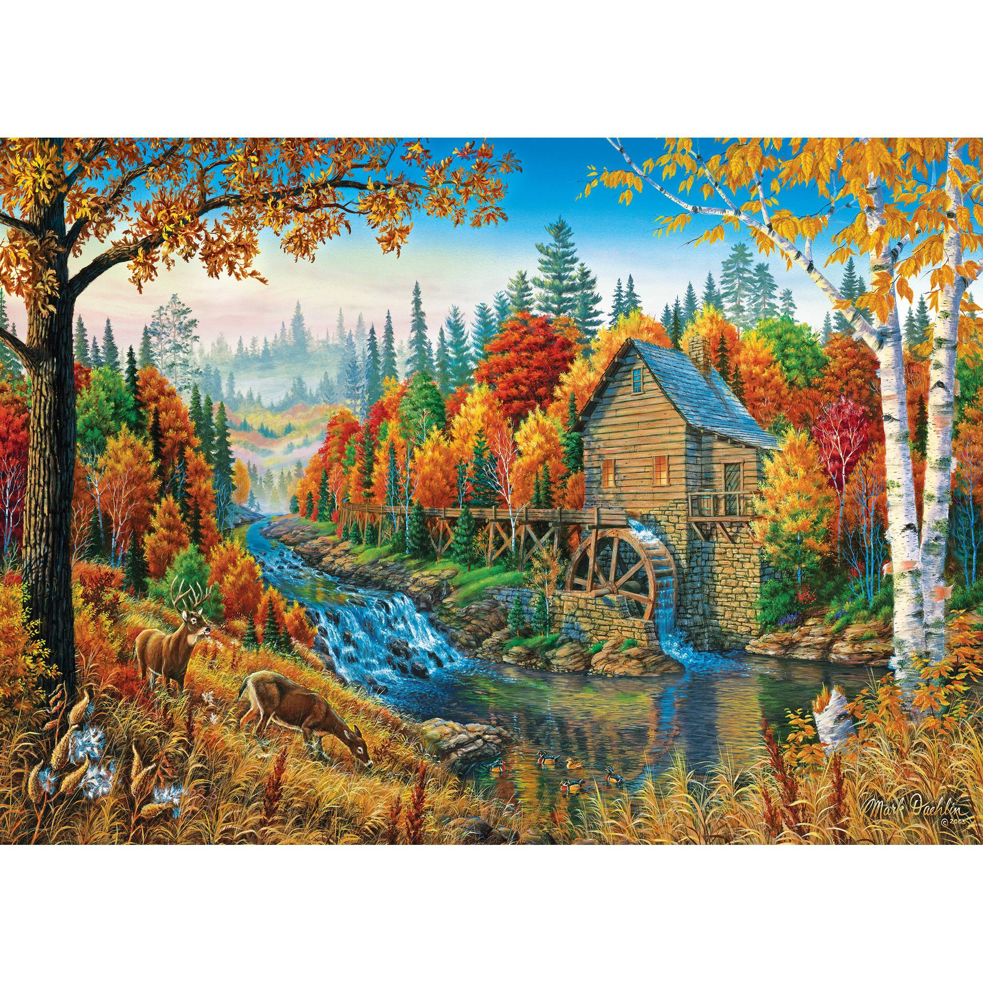 MasterPieces Johnson's Mill 1000 Piece Puzzle