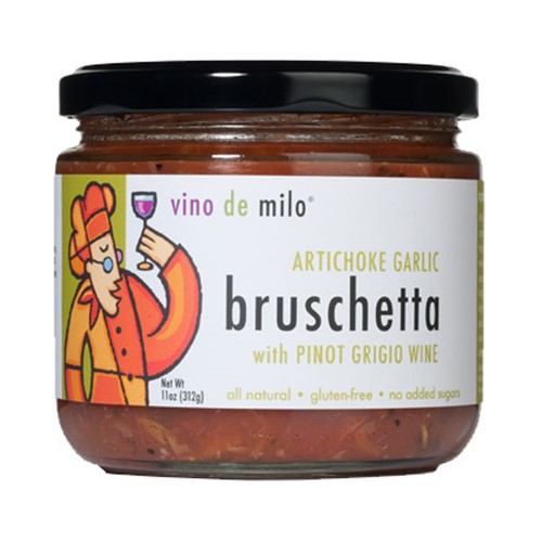 Bruschetta by Vino de Milo - Artichoke Garlic