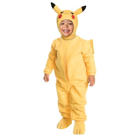 Toddler Deluxe Pikachu Costume - Cat Pikachu Costume
