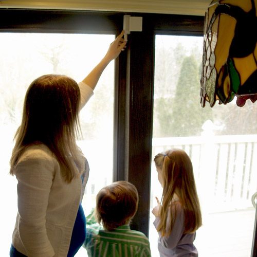 Cardinal Gates Patio Door Guardian Childproofing Lock, White   Walmart.com