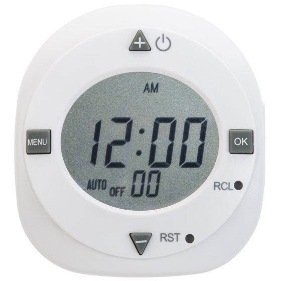 Hyper tough indoor digital timer 1 outlet walmart hyper tough indoor digital timer 1 outlet sciox Images