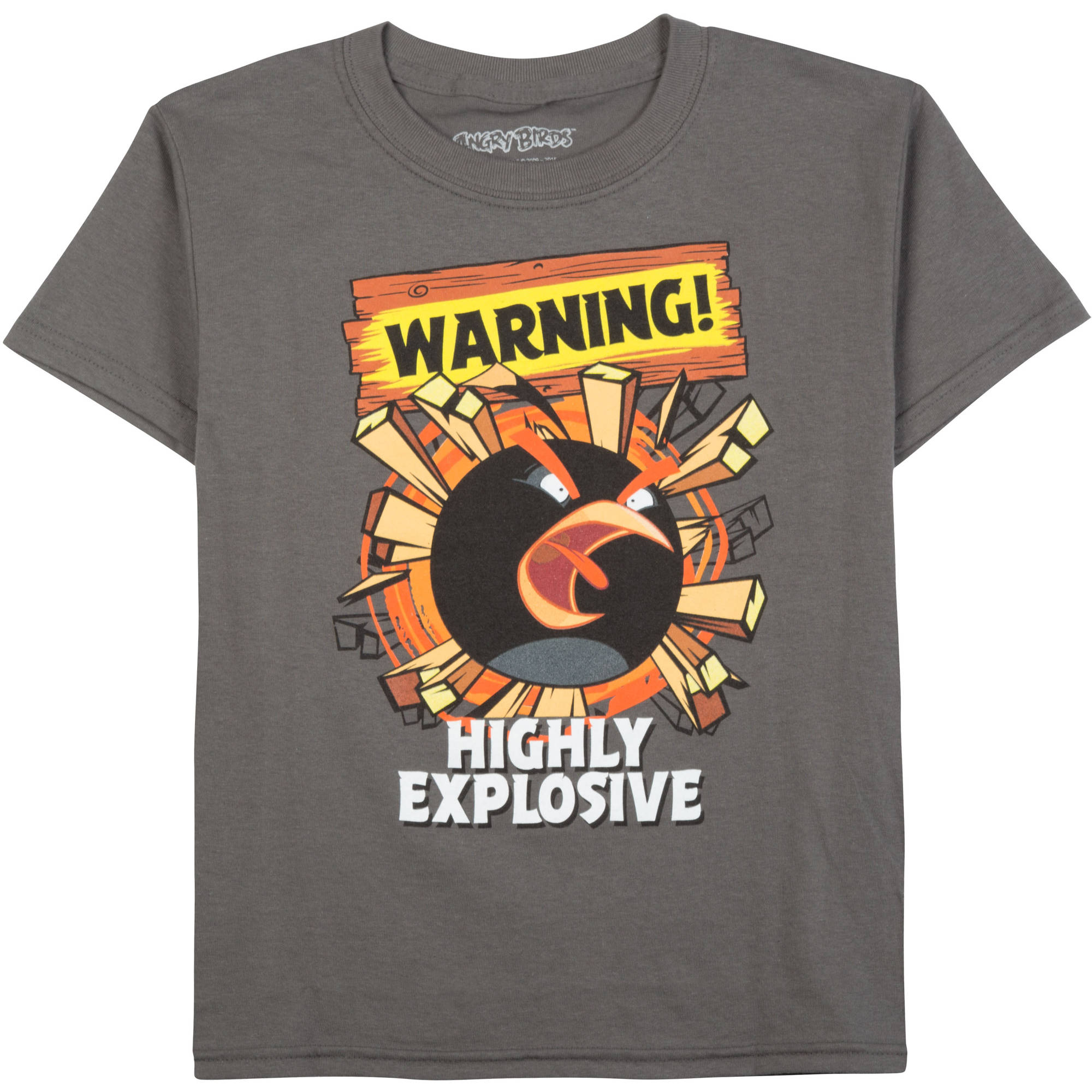 Angry Birds Explosive Boys Graphic Tee