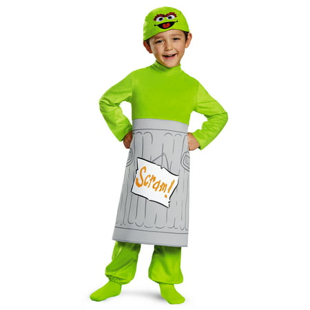 Oscar the Grouch Sesame Street Toddler Halloween Costume - Oscar The Grouch Halloween Costumes