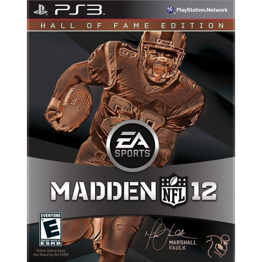 Madden NFL 12 Hall of Fame Edition (PS3) - Pre-Owned