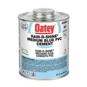 OATEY 30894 PVC Cement,Blue,32 oz.
