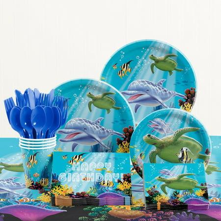 Ocean Birthday Party Supplies Kit - Ocean Party Supplies
