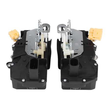 WALFRONT Front Left & Right Door Lock Actuator Latch for GMC Sierra Chevy Silverado 1500 931-303 931-349, Door Latch, Left Right Door (2009 Chevy Silverado Blend Door Actuator Location)
