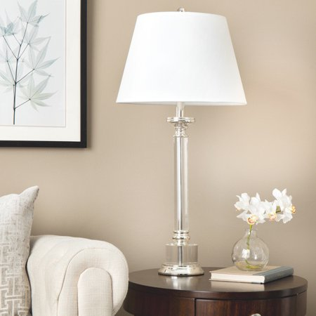Crystal base table lamp modern table lamp living room for Table lamps for living room modern