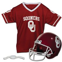 Oklahoma Sooners Franklin Sports Youth Helmet and Jersey Set