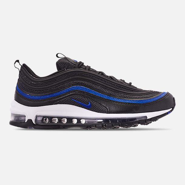 Nike Mens Nike Air Max 97 Og Anthracite Racer Blue Black Ar5531