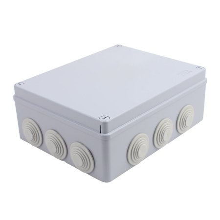 240x190x90mm Outdoor Waterproof Electronic Terminal Junction Box Cover Case - image 3 of 3