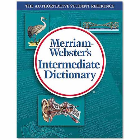 Merriam Webster Intermediate Dictionary  Grades 6 8   Hardcover  1   024  Pages
