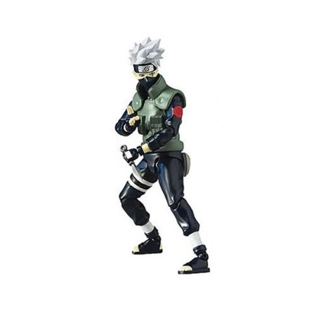 - Toynami Naruto Shippuden 4-Inch Kakashi Poseable Action Figure