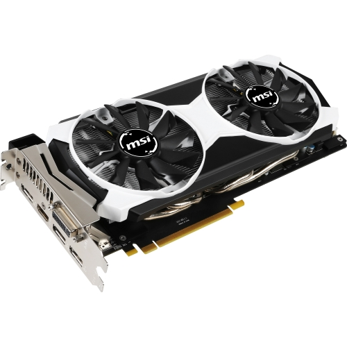MSI USA GTX 980 4GD5T OC MSI GTX 980 4GD5T OC GeForce GTX 980 Graphic Card - 1.18 GHz Core - 1.28 GHz Boost Clock - 4 GB GDDR5 - PCI Express 3.0 x16 - Dual Slot Space Required -