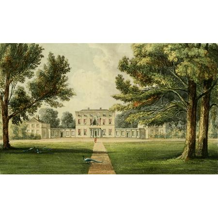 Mission Lodge Arts - Repository of Arts 1817 Richings lodge Canvas Art - J Gendall (18 x 24)