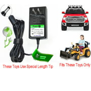 12V Circle Charger for Little Tikes Tractor Dirt Digger & Toyota Tundra 12V Ride On