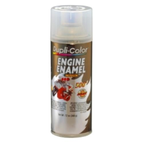 Krylon DE1636 Engine Enamel Paint, Clear, 12 Oz Can, Contains Ceramic Resins