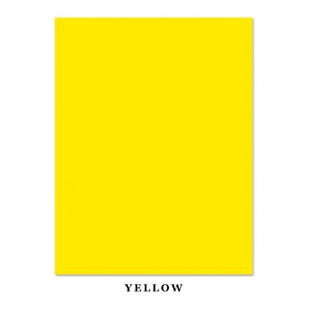 Bright Color Card Stock Paper, 65lb. 8.5 X 11 Inches - 50 Sheets - Yellow