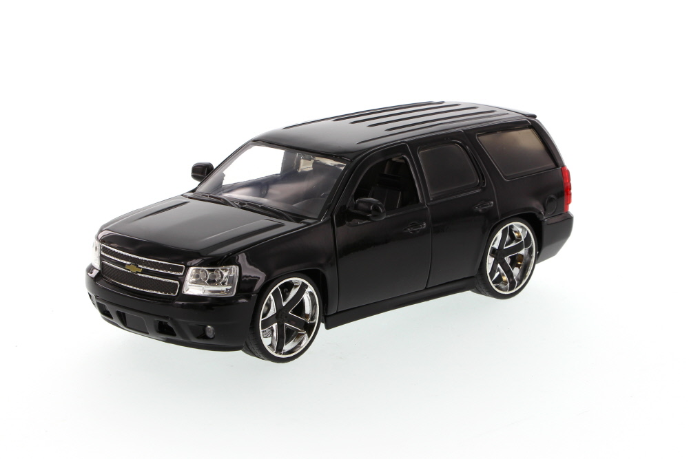 Chevy Tahoe SUV, Black Jada Toys LoPro 96469 1 24 scale Diecast Model Toy Car (Brand but... by Jada