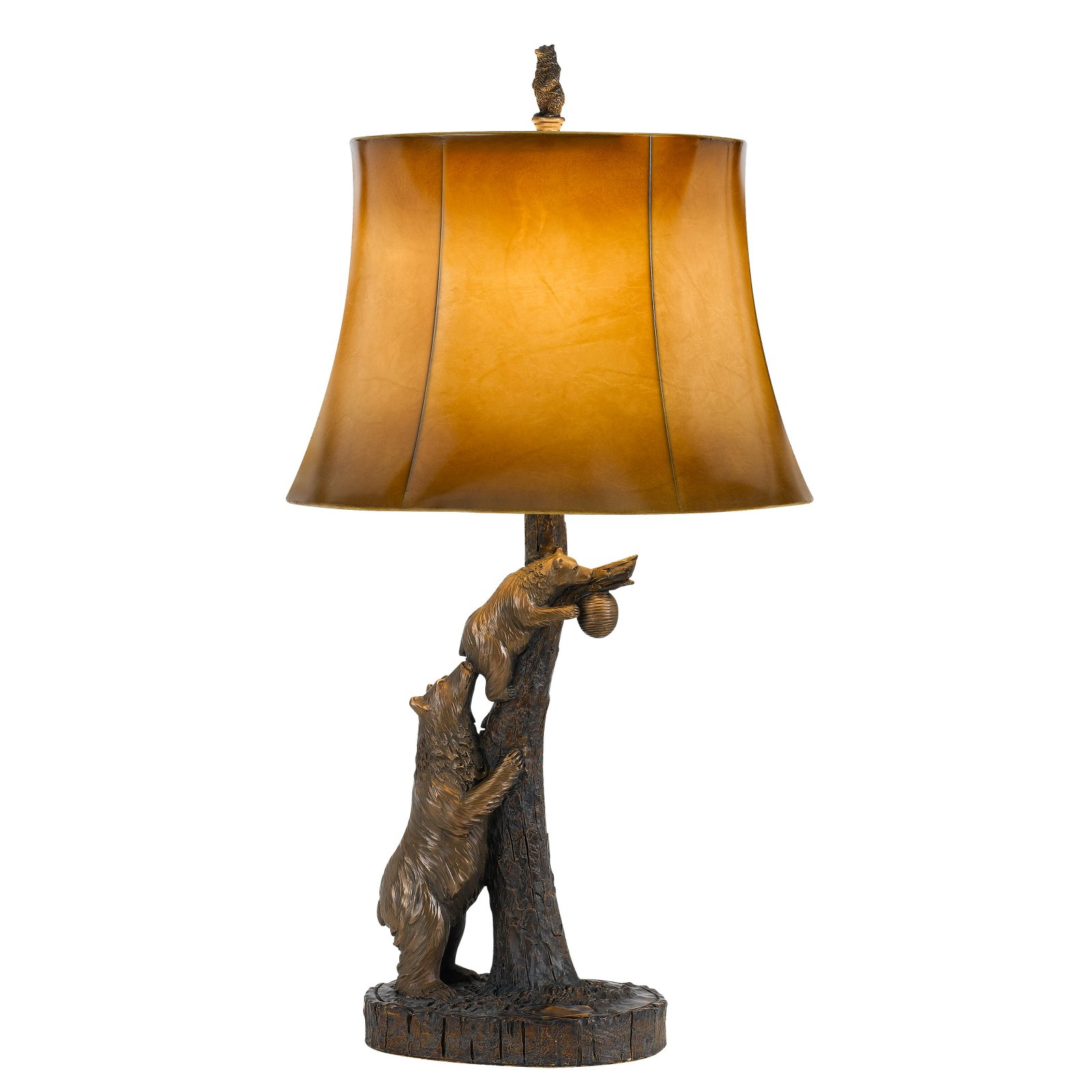 Cal Lighting Bear Table Lamp by