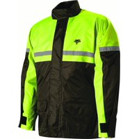 Nelson-Rigg SR-6000 Stormrider Unisex Rain Suit (Yellow, Small) (High Visibility) Two-Piece Hi Visibility