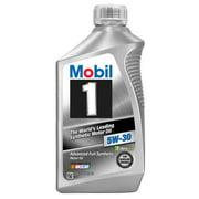 (3 Pack) Mobil 1 5W-30 Full Synthetic Motor Oil, 1 qt.