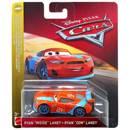 Disney / Pixar Cars Next-Gen Piston Cup Racers Ryan Inside Laney Diecast Car (Ryan Lane)