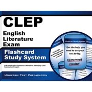 CLEP English Literature Exam Flashcard Study System: CLEP Test Practice Questions & Review for the College Level Examination Program