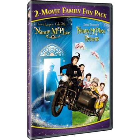 Halloween Movies For Families To Watch (NANNY MCPHEE-2 MOVIE FAMILY FUN PACK (DVD))