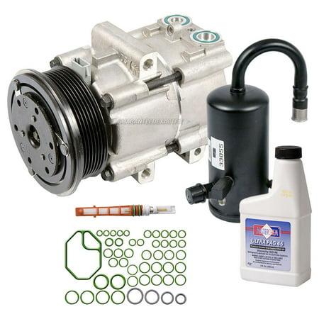AC Compressor w/ A/C Repair Kit For Lincoln Town Car & Mercury Grand (Grand Marquis Repair)
