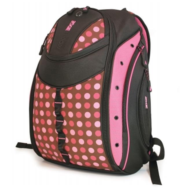 Mobile Edge MEBPEX2 Women;apos;s Express Backpack- Polka Dot