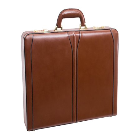Lawson Leather Attache Case - (Leather Attache)