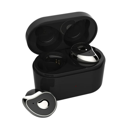91600877c63 [bluetooth 5.0] Mini True Wireless Earbuds TWS bluetooth Earpiece Headphone  - Noise Cancelling Sweatproof