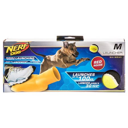Nerf Tennis Ball Stomper Dog Toy Large - (12.8\