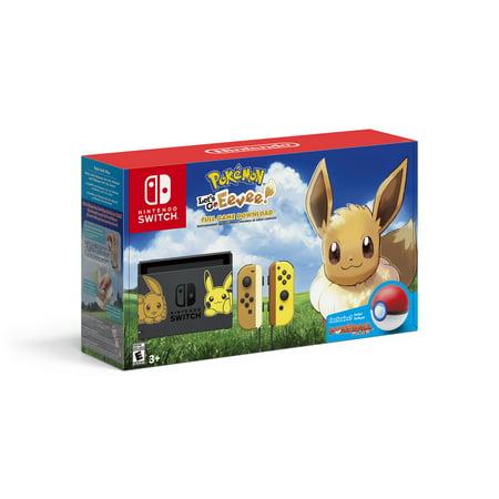 Nintendo Switch Eevee Edition Bundle