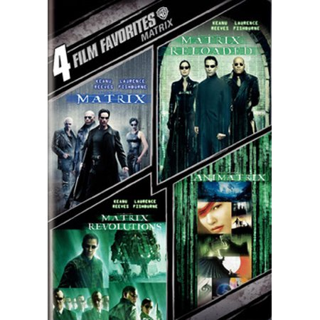 4 Film Favorites: The Matrix Collection (DVD) - Halloween 4 Film Complet