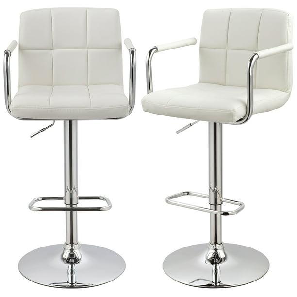 duhome bar stools counter height adjustable bar chairs