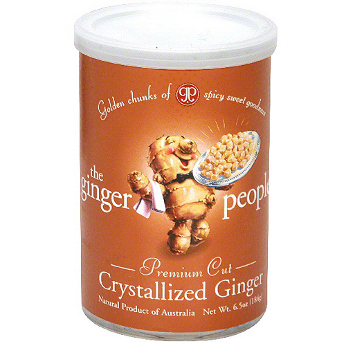 The Ginger People Crystallized Ginger, 6.5 oz (Pack of 12)