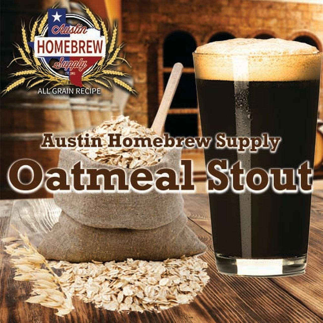 Austin Homebrew Oatmeal Stout (13C) - ALL GRAIN