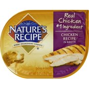Nature`s Recipe Chicken Recipe In Broth Wet Dog Food, 2.75 oz