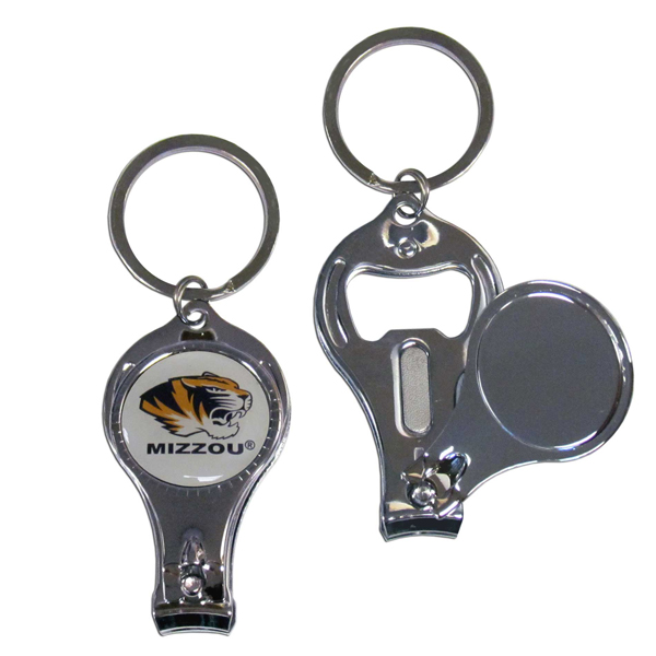 Missouri Tigers Official NCAA 3 in 1 Key Chain by Siskiyou 112249