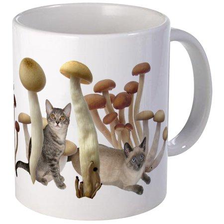 CafePress - Mushroom Cats Mug - Unique Coffee Mug, Coffee Cup CafePress (Mushroom Cup)